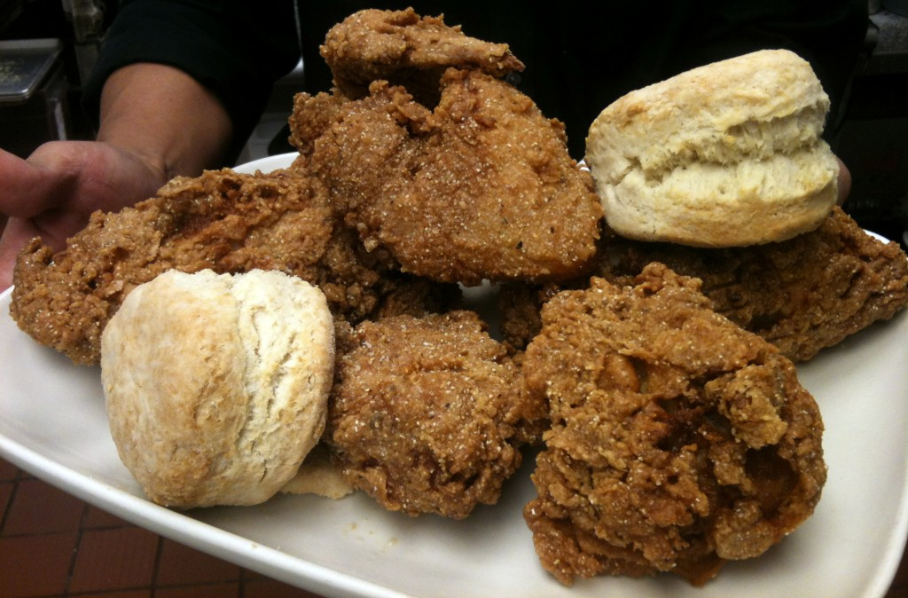 Oh yes, there will be fried chicken!